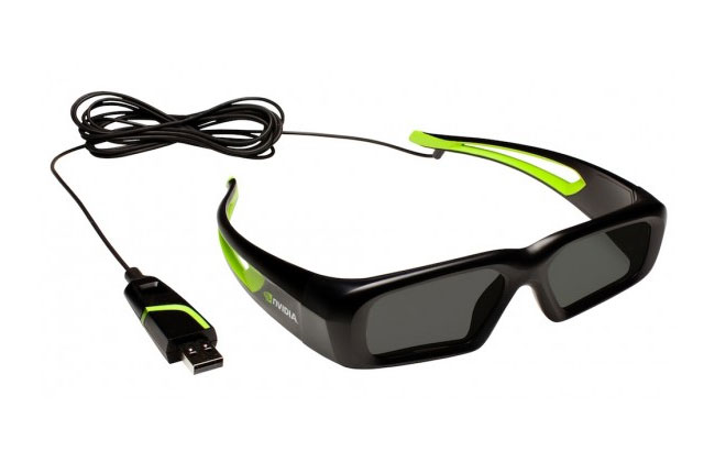 NVIDIA 3D Vision $99 Wired Glasses