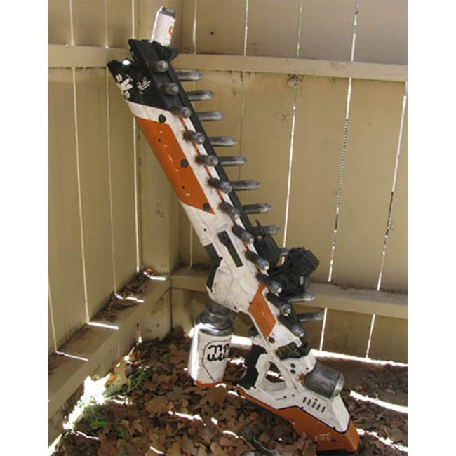 Papercraft District 9 Gun