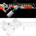 Papercraft-District-9-Gun_2