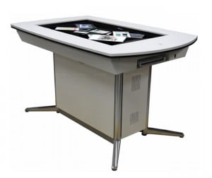 Pioneer Unveils WWS-DT101 Multitouch Table