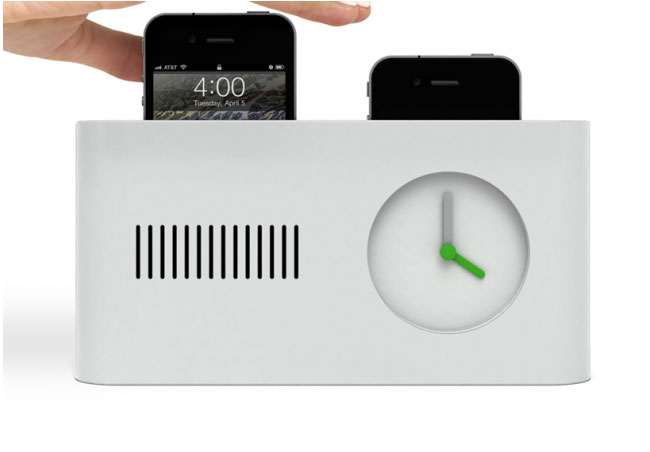 Pop-up iPhone Alarm Clock