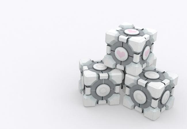 Portal 2 Cube Tricks