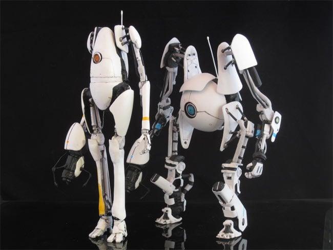 portal 2 robots. Portal 2 Figures