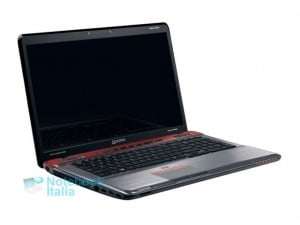 Qosmio X770 gaming laptop