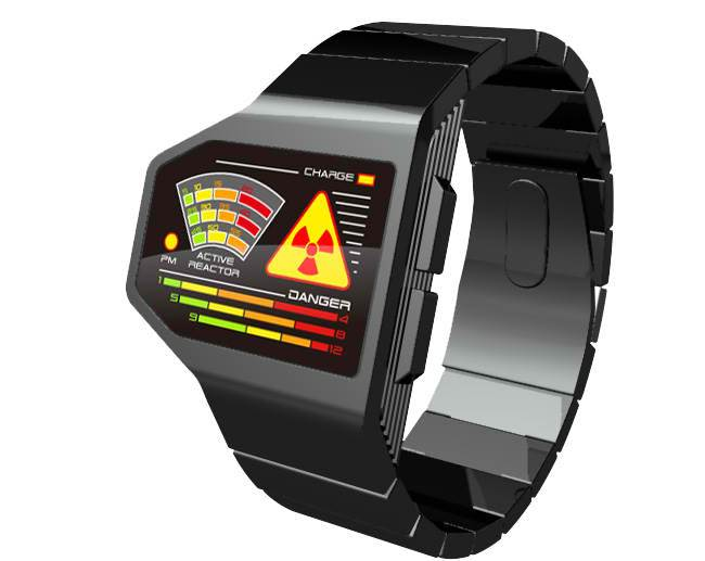 Radiation Level LED Watch Is One Awful Concept