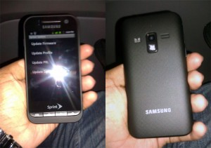 Samsung SPH-D600 Sprint Android Smarpthone Leaked