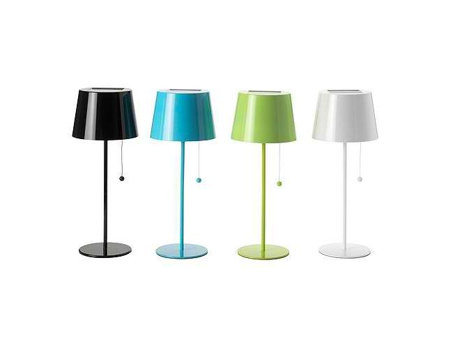 ikea rolls out solvinden solar lamp. Black Bedroom Furniture Sets. Home Design Ideas
