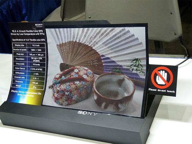 Sony ePaper