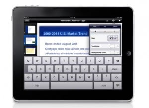 iPad App Soonr Enables Microsoft Office Document Editing (video)