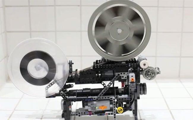 Super8 Lego Projector