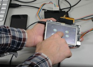 Tactile Touchscreen Prototype (Video)