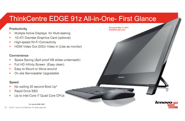ThinkCentre Edge 91z
