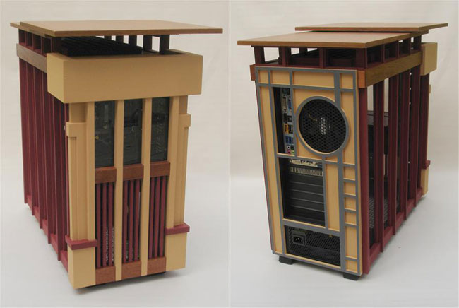 Usonian PC Case Mod By Jeffrey Stephenson