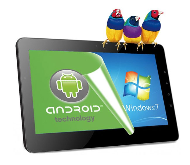 viewsonic viewpad 10pro dual os tablet runs windows 7 pro and android. Black Bedroom Furniture Sets. Home Design Ideas
