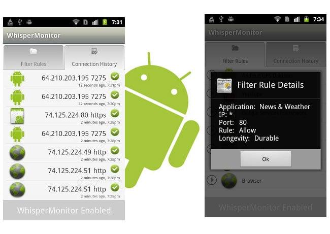 WhisperMonitor Android