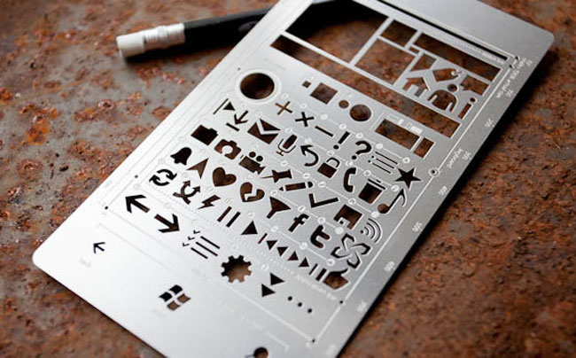 Windows Phone 7 Stencil Kit