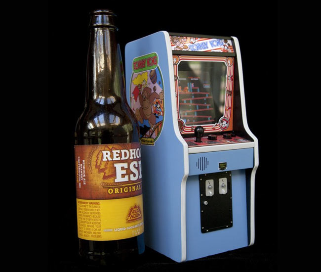 Worlds Smallest Donkey Kong Cabinet