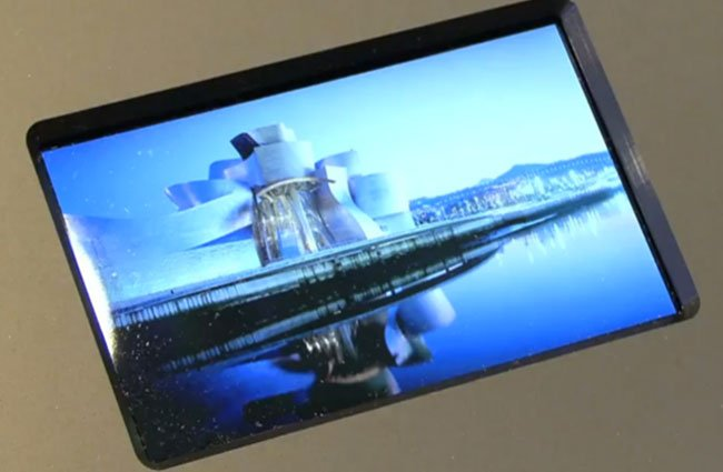 Worlds smallest 3D TV