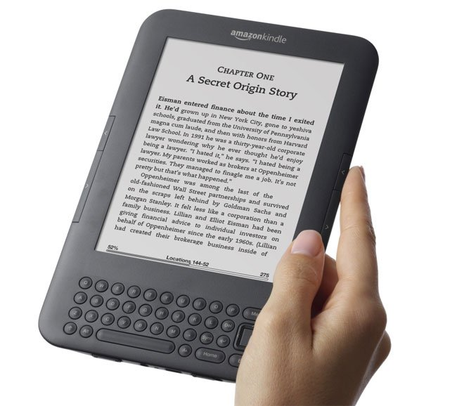 Amazon Now Selling More Kindle Books Than Print Books