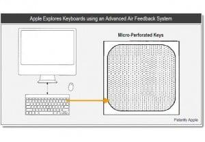 Apple Patents Air-driven Tactile Feedback Keyboard Design