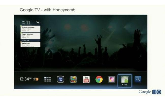 Google TV Honeycomb