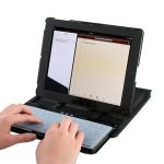 iPad 2 Case With Sliding Bluetooth Keyboard