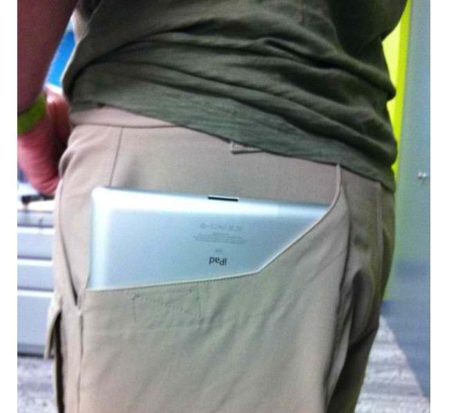 iPad pants
