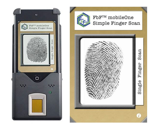 iPod Finger Print Scanner