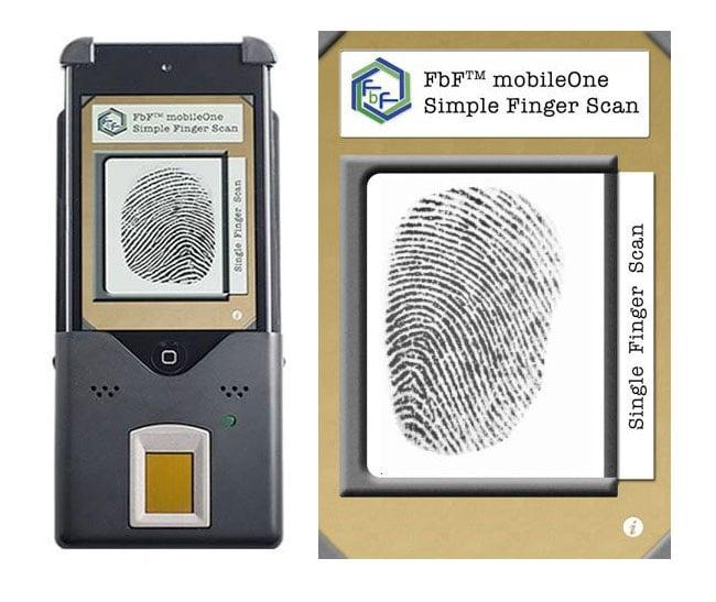iPod Finger Print Scanner