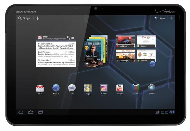 Motorola Xoom Android 3.1 Honeycomb