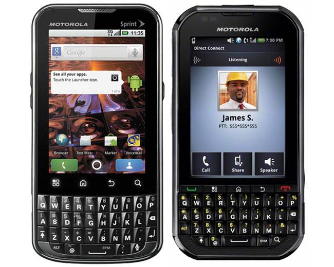 Motorola And Sprint Launch XRPT And Titanium