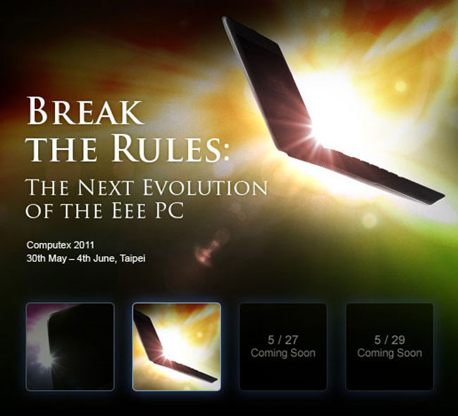 Asus Previews New Ultra Thin Netbook