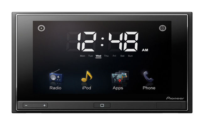 pioneer 39 s new appradio adds iphone apps to your car. Black Bedroom Furniture Sets. Home Design Ideas
