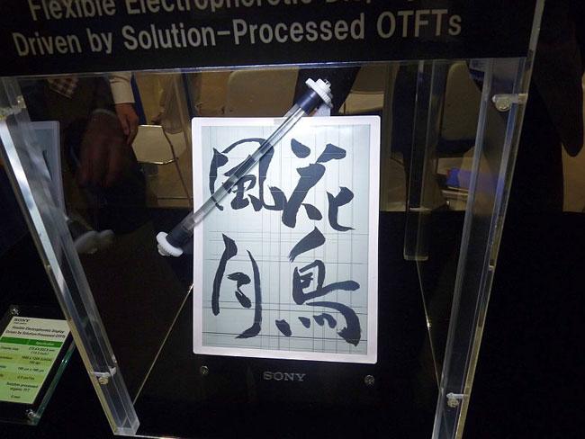 Sony OTFT Display