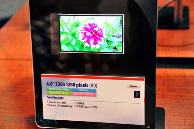 Toshiba 4 Inch Display