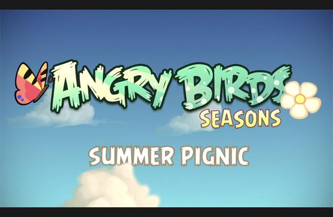 Angry Birds Seasons: Summer Pignic