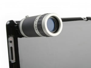 Apple iPad 2 Telescope Camera Lens Case