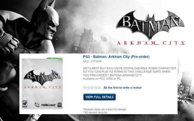 Batman:Arkham City