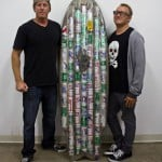 Beer Can Surfboard