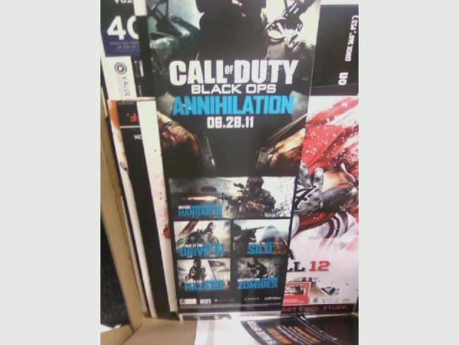 Black Ops Annihilation Map Pack