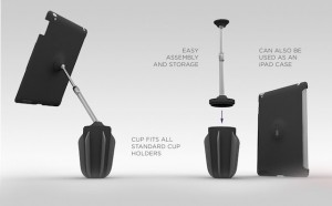 Stance, Cup Holder iPad Stand (video)