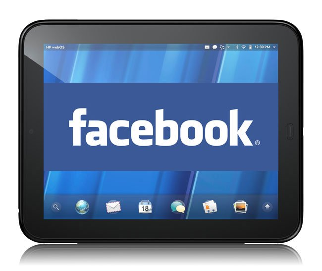 Facebook HP TouchPad