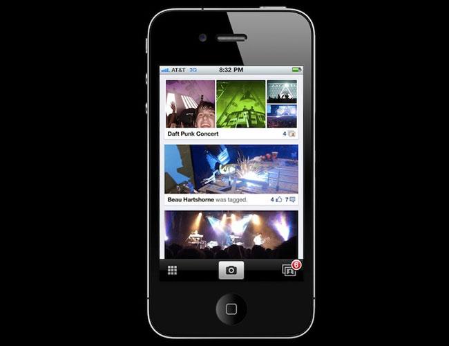 Facebook Photo Sharing App