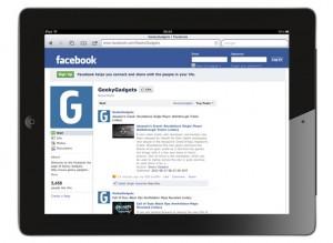 Facebook iPad App Coming Soon