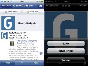 Facebook For iPhone Gets Updated