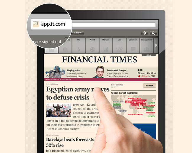 Financial Times Web App