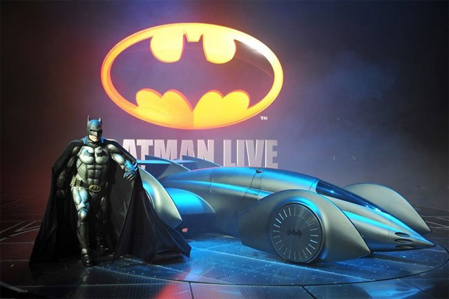 Gordan Murray's New Batmobile