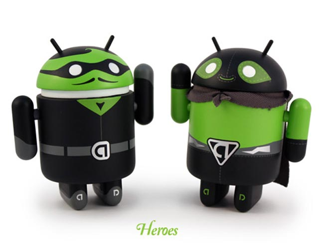 Heroes And Villans Android Collectibles