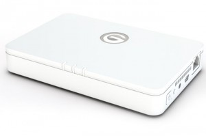 Hitachi G-Connect iPad Wireless Router And Storage Solution