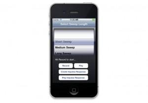 Impulse Response iPhone App